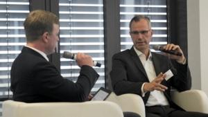 Peter Schwierz, electirve.net; Dr. Carl Friedrich Eckhardt,BMW (v.l.n.r.)
