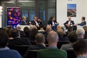 Dr. Michael Brandkamp, Moritz von Grotthuss, Boris Kühn, Dr. Detlef Pohl, Dr. Gerd Leutner (v.l.n.r.)