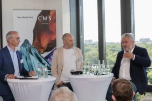 Dr. Markus Häuser, Martin Schindele, Dr. Juergen Erbeldinger (v.l.n.r.)