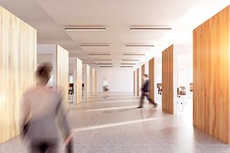 intérieur bureau couloir droit du travail 330x220