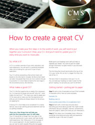CR - Resources - how to create a great cv - thumbnail