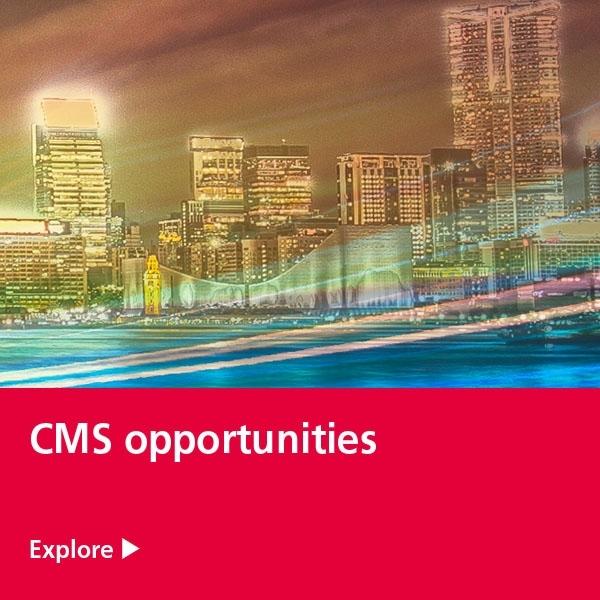CMS opportunities tile