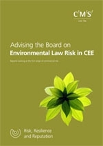 RRR Advising the board on Environmental Law Risk CEE