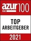 Azur100, Top Arbeitgeber - 2021