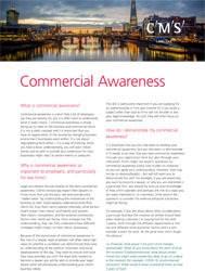 CR - Resources - commercial awareness - thumbnail