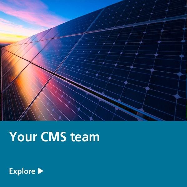 your cms team - solar panels
