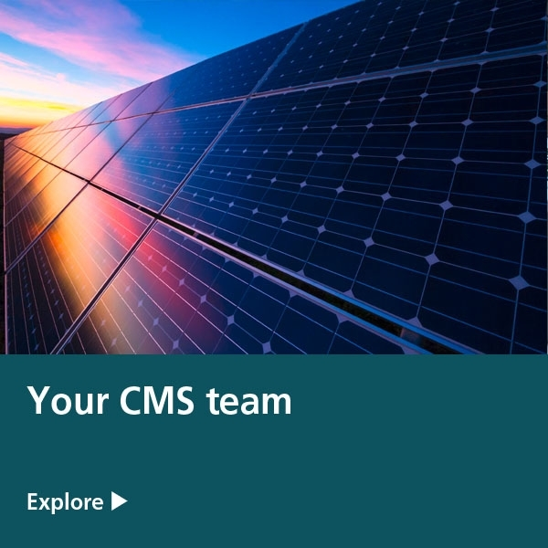 your cms team - solar panels
