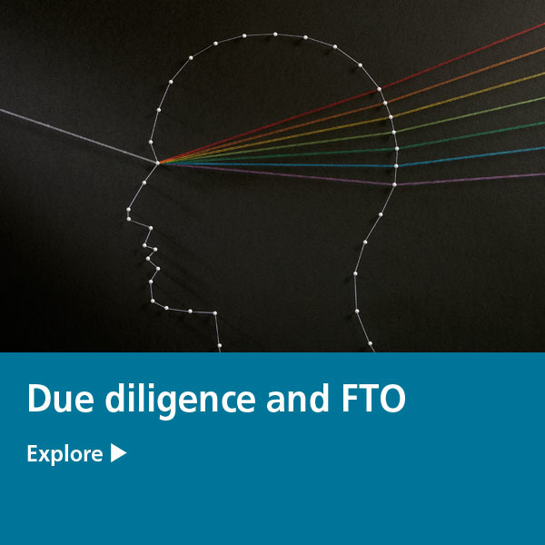 IP Tile - due diligence and fto