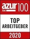 azur100 Top-Arbeitgeber 2020