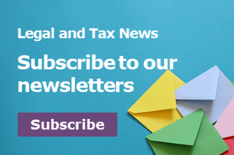 Legal and tax news 330x220