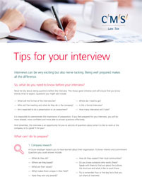 CR - Resources - preparing for interviews - thumbnail