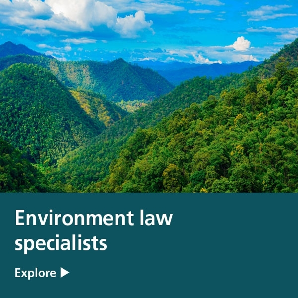 environment law specialists tile - green forest