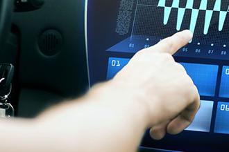 voiture tableau de bord digital mobilité 330x220