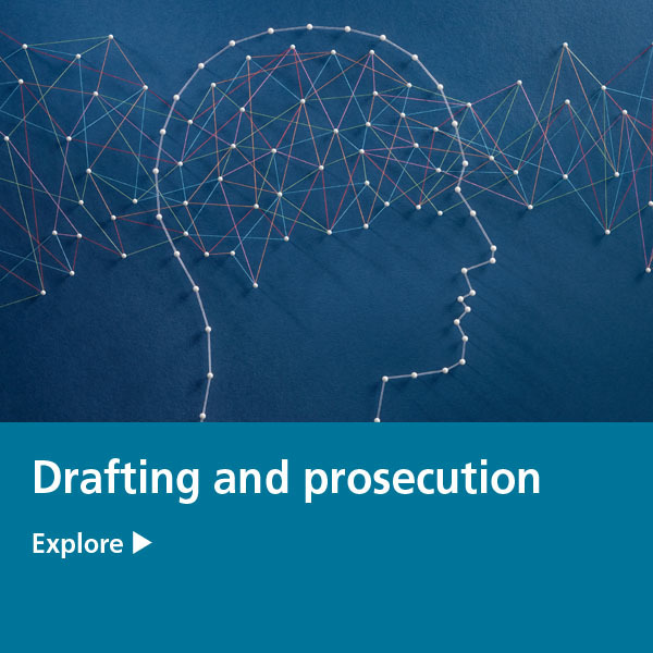 drafting and prosecution tile