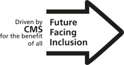 CMS Future Facing Inclusion Logo