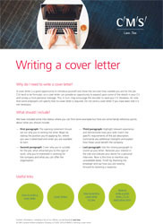 CR - Resources - writing a cover letter - thumbnail
