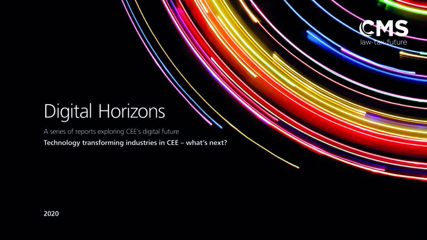 CEE Digital horizon report - Tech smart industries