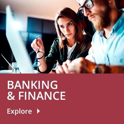 Banking & Finance tile