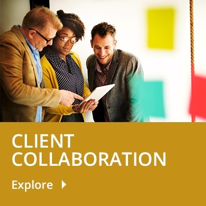 Client Collaboration tile