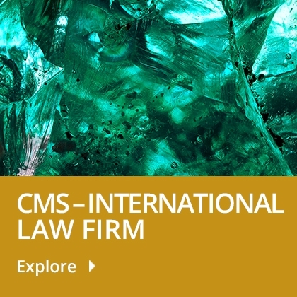 CMS International law firm tile