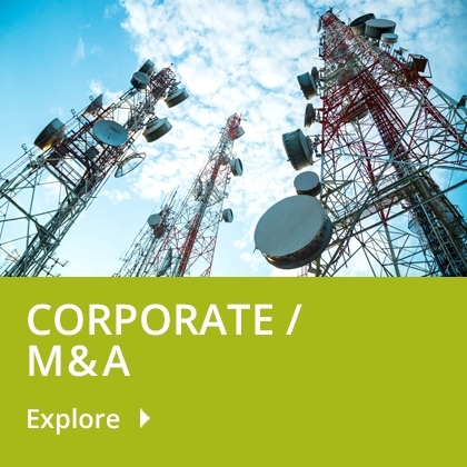 Corporate/M&A Tile