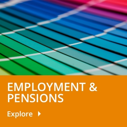 Employment & Pensions tile