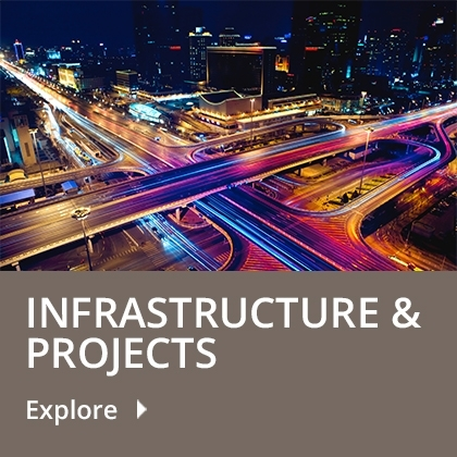 Infrastructure & Projects tile
