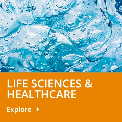 Life sciences & Healthcare tile