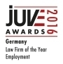 Awards 2016 Logo Employment