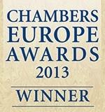 Chambers Europe Awards 2013