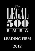 Legal 500 2012
