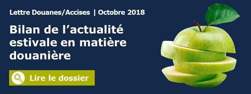 lettre douanes octobre 2018