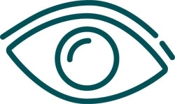 Pictogram of eye