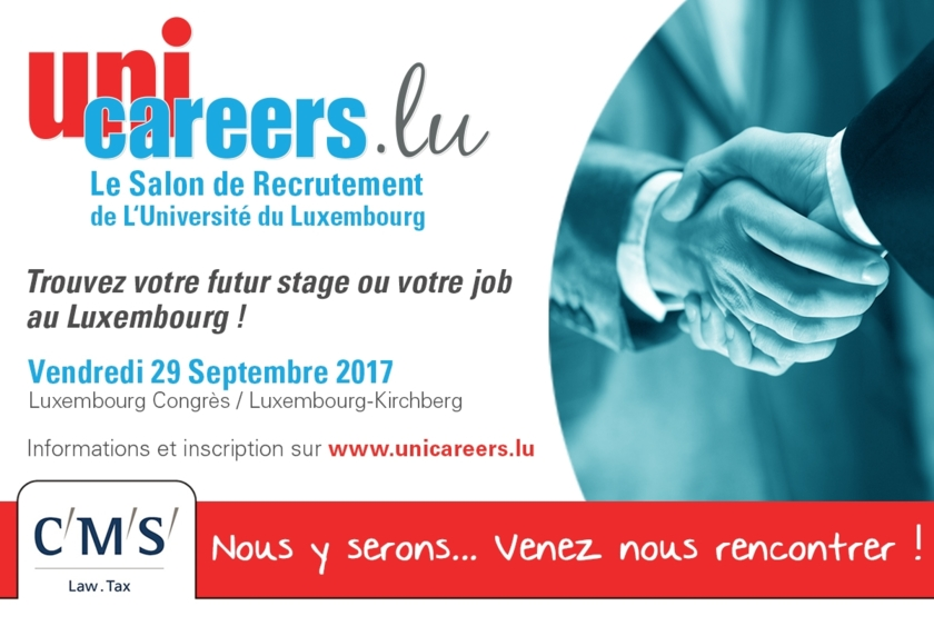 Unicareers flyer 2017 - CMS Luxembourg