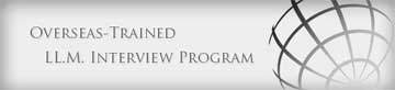 Logo - Overseas Trained LLM Interview Program