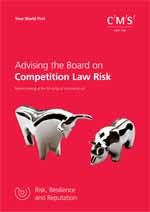Advising the Board on Competition Law Risk Cover 150x212