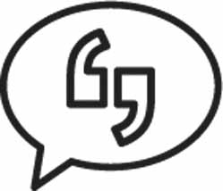 Artificial Intelligence comments speech Bubble