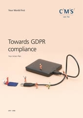 GDPR action plan cover