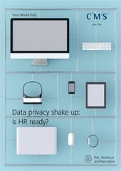 GDPR data privacy brochure cover