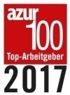 azur 100 - Top-Arbeitgeber 2017