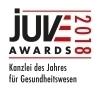 JUVE Award 2018 - Gesundheitswesen