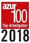azur100 Top-Arbeitgeber 2018