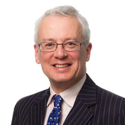 Portrait of Neil James