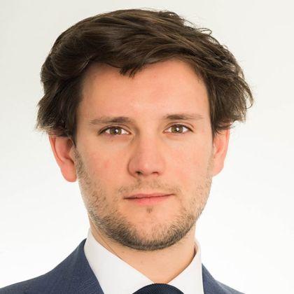 Portrait of Maxime Ronsmans