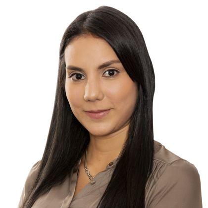 Portrait of María Ximena Castellanos