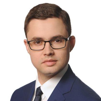Portrait of Maciej Olejnik
