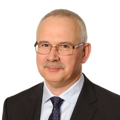 Portrait of Tomasz Minkiewicz