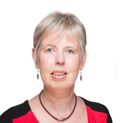 Portret van Elly Besterveld