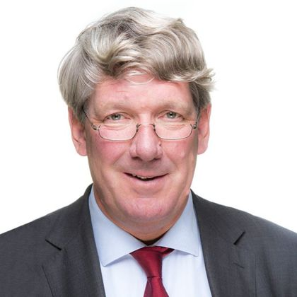 Portrait of Jan Willem Bouman