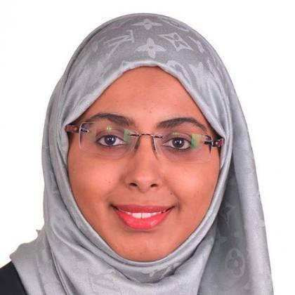 Portrait of Nabila Said